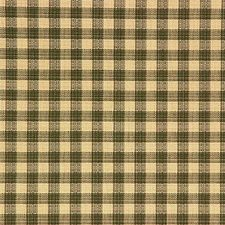 Beige/Green Plaid Drapery and Upholstery Fabric by Kravet