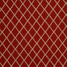 Red Hot Drapery and Upholstery Fabric by Robert Allen