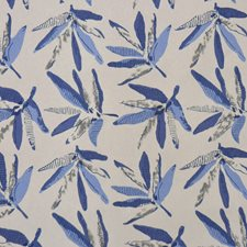 Blue Multi Drapery and Upholstery Fabric by RM Coco