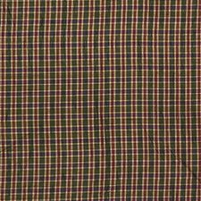 Green/Purple/Burgundy Plaid Drapery and Upholstery Fabric by Kravet