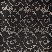 Noir Scrollwork Drapery and Upholstery Fabric by Fabricut