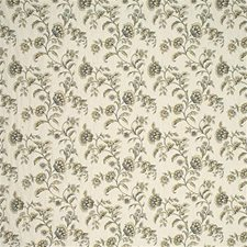 Classic Navy Botanical Drapery and Upholstery Fabric by Kravet