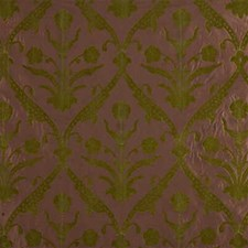 Moss Print Drapery and Upholstery Fabric by Groundworks