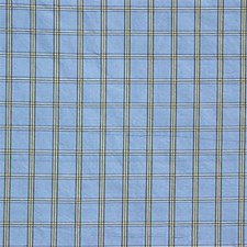 Blue/Yellow/Gold Plaid Drapery and Upholstery Fabric by Kravet
