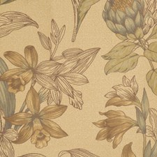 Cornsilk Toile Drapery and Upholstery Fabric by Fabricut