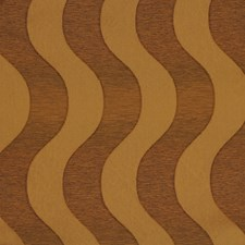 Copper Geometric Drapery and Upholstery Fabric by Fabricut