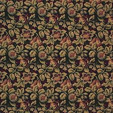 Green/Yellow/Purple Botanical Drapery and Upholstery Fabric by Kravet