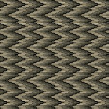 Black Sand Flamestitch Drapery and Upholstery Fabric by S. Harris