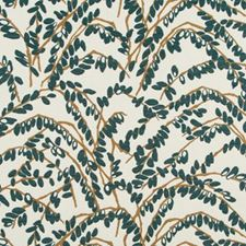 Blue Pine Drapery and Upholstery Fabric by Robert Allen/Duralee