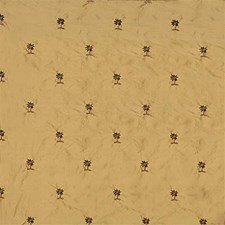 Yellow/Green/Brown Tropical Drapery and Upholstery Fabric by Kravet