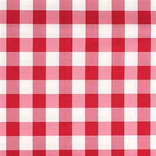 Burgundy/Red/White Plaid Drapery and Upholstery Fabric by Kravet