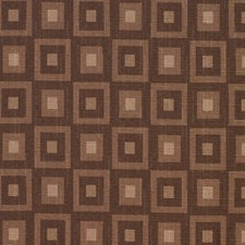 Brown Check Drapery and Upholstery Fabric by Fabricut