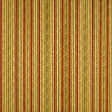 Mustard/Tarragon/Ruby Drapery and Upholstery Fabric by Scalamandre