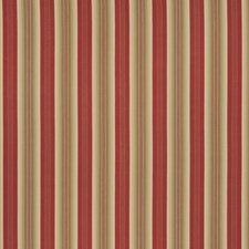 Rouge Stripes Drapery and Upholstery Fabric by Fabricut
