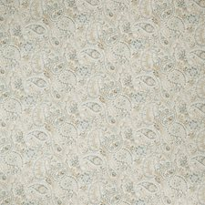 Stone Blue Paisley Drapery and Upholstery Fabric by Fabricut