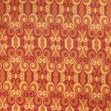 Persimmon Lattice Drapery and Upholstery Fabric by Fabricut