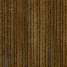 Yellow/Brown/Green Stripes Drapery and Upholstery Fabric by Kravet
