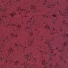 Burgundy/Red Botanical Drapery and Upholstery Fabric by Kravet