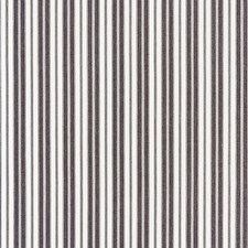 Charcoal CHATHAM STRIPES Drapery and Upholstery Fabric by Scalamandre