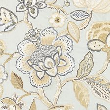Mineral Embroidery Drapery and Upholstery Fabric by Scalamandre