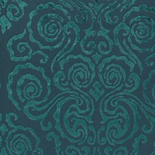 Emerald Drapery and Upholstery Fabric by Scalamandre