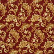Cayenne Botanical Drapery and Upholstery Fabric by Kravet