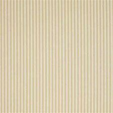 Yellow/Gold Stripes Drapery and Upholstery Fabric by Kravet