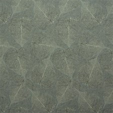 Light Blue/Yellow/Brown Botanical Drapery and Upholstery Fabric by Kravet