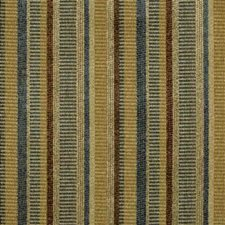 Yellow/Blue/Beige Texture Drapery and Upholstery Fabric by Kravet
