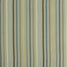 Aqua Stripes Drapery and Upholstery Fabric by Kravet