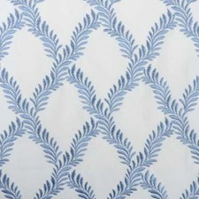 Cornflower Embroidery Drapery and Upholstery Fabric by Highland Court