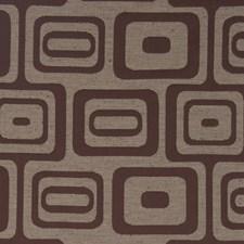 Merlot Geometric Drapery and Upholstery Fabric by Fabricut