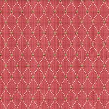 Red/Ivory/Celery Small Scales Drapery and Upholstery Fabric by Kravet
