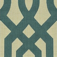 Blue/Beige Modern Drapery and Upholstery Fabric by Kravet