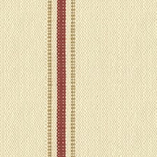 White/Burgundy/Red Ethnic Drapery and Upholstery Fabric by Kravet