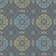 Blue/Beige/Light Blue Modern Drapery and Upholstery Fabric by Kravet