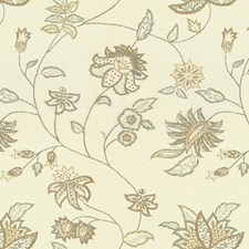 Mica Botanical Drapery and Upholstery Fabric by Kravet