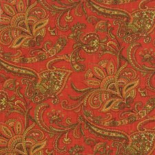 Apple Paisley Drapery and Upholstery Fabric by Fabricut