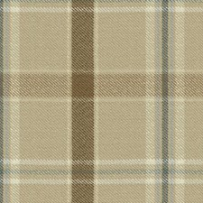 Dune Plaid Drapery and Upholstery Fabric by Kravet