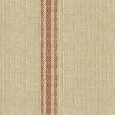 Rouge Stripes Drapery and Upholstery Fabric by Kravet