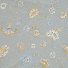 Sky Embroidery Drapery and Upholstery Fabric by Fabricut