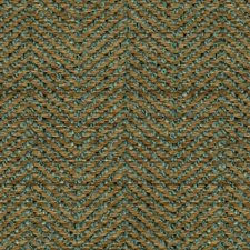 Yellow/Light Blue Tweed Drapery and Upholstery Fabric by Kravet