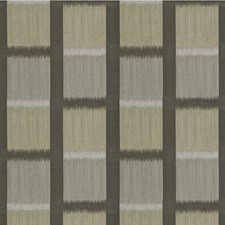 Charcoal Ikat Drapery and Upholstery Fabric by Kravet