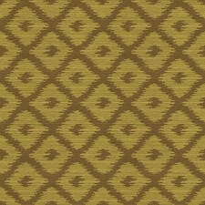 Green/Yellow Geometric Drapery and Upholstery Fabric by Kravet