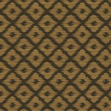 Black/Yellow Modern Drapery and Upholstery Fabric by Kravet