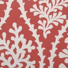 Tomato Leaf Drapery and Upholstery Fabric by Duralee