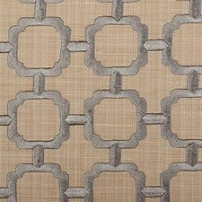Bluestone Embroidery Drapery and Upholstery Fabric by Duralee