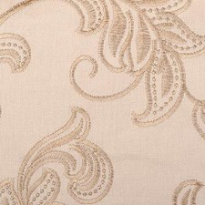 Sandstone Embroidery Drapery and Upholstery Fabric by Duralee