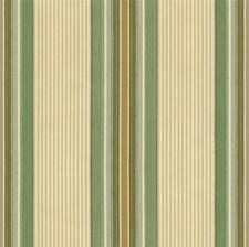 Green/Beige Stripes Drapery and Upholstery Fabric by Kravet
