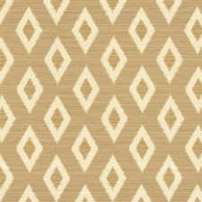 White/Beige Diamond Drapery and Upholstery Fabric by Kravet